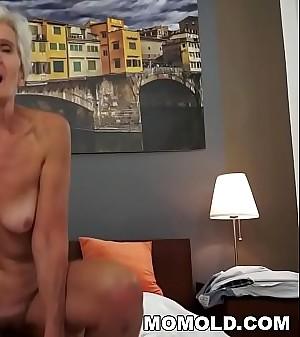Old woman Viviana still needs hard shaft