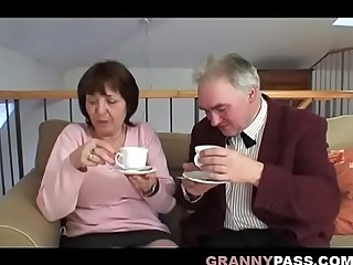 Busty Huge Granny Has Sex With Grandpa