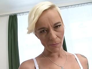 Granny blowjob interracial sex hardcore fucking with black stud fucking grandma