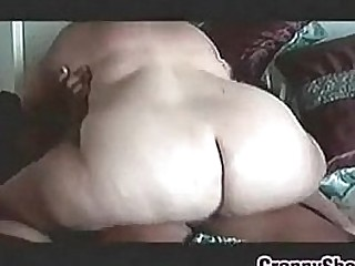 Huge Granny On Riding Some Thick Cock