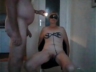 French granny Trudy 64 humiliated by her master
