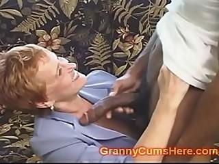 School Teacher GRANNY gets Pounded