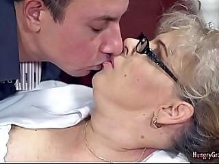 Granny Loves Fat Cock
