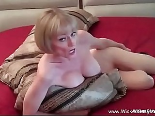Fledgling Granny Is Horny At Night