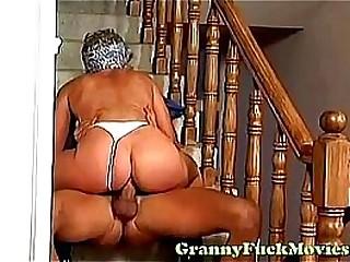 Kink granny gonzo fucked