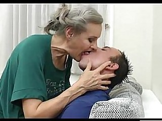 Granny pounded by young guy