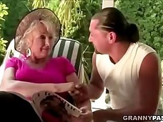 Granny Fucks New Yoga Teacher