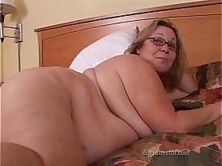 Mature BBW Ass fucking