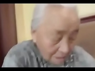 80yr old Japanese Granny Still Likes to Fuck (Uncensored)