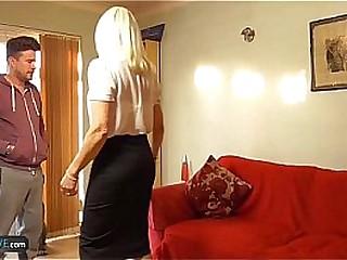 AgedLovE Mature Blonde Anne Hard-core Granny Fuck
