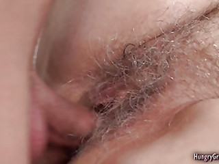 Gray haired grandma gets pounded