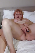 OldNanny Blonde and redheaded women masturbate