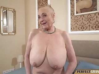 the huge tits of grandma