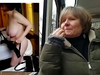 MarieRocks public vs personal naked GILF