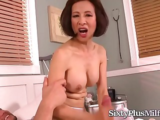 Sexy Asian Mummy Loves Big Cock