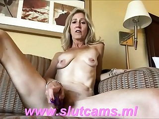 Mature gets creampie after masturbate PART 2 only on www.slutcams.ml