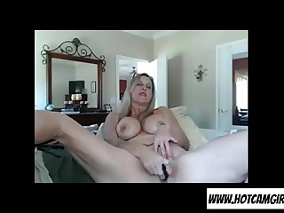 Horny granny fake penis orgasm on cam  Join hotcamgirls69.com for free live camgirls