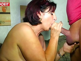 LETSDOEIT  Mature German Wife Fucked Hardcore by Her Lover